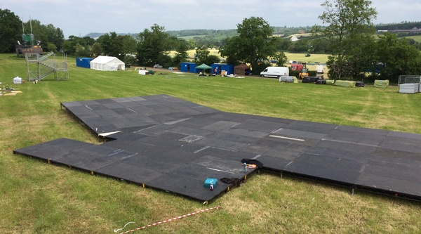 Festival Stage Hire